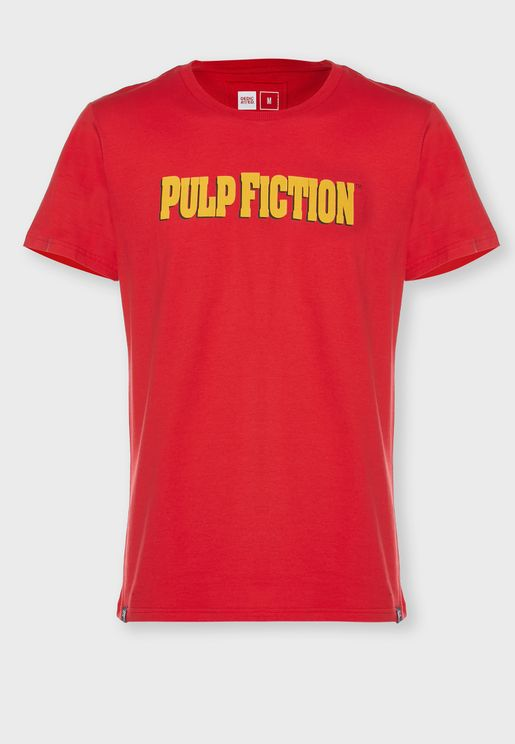 Pulp Fiction Crew Neck T-Shirt