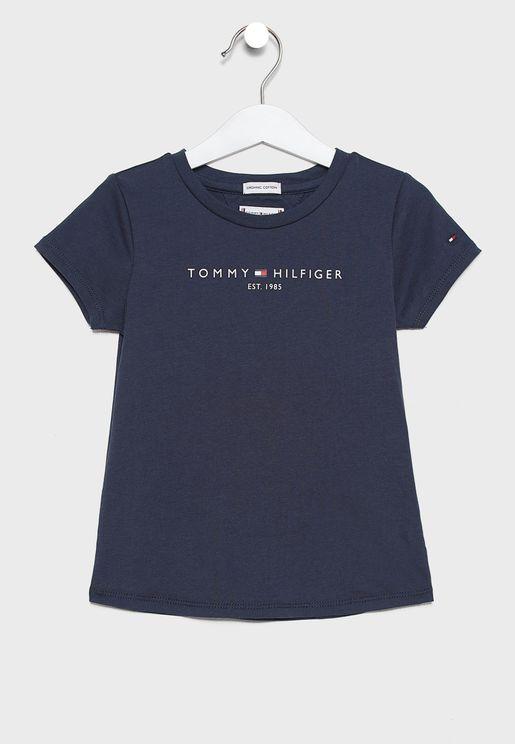 Little Essential Logo T-Shirt