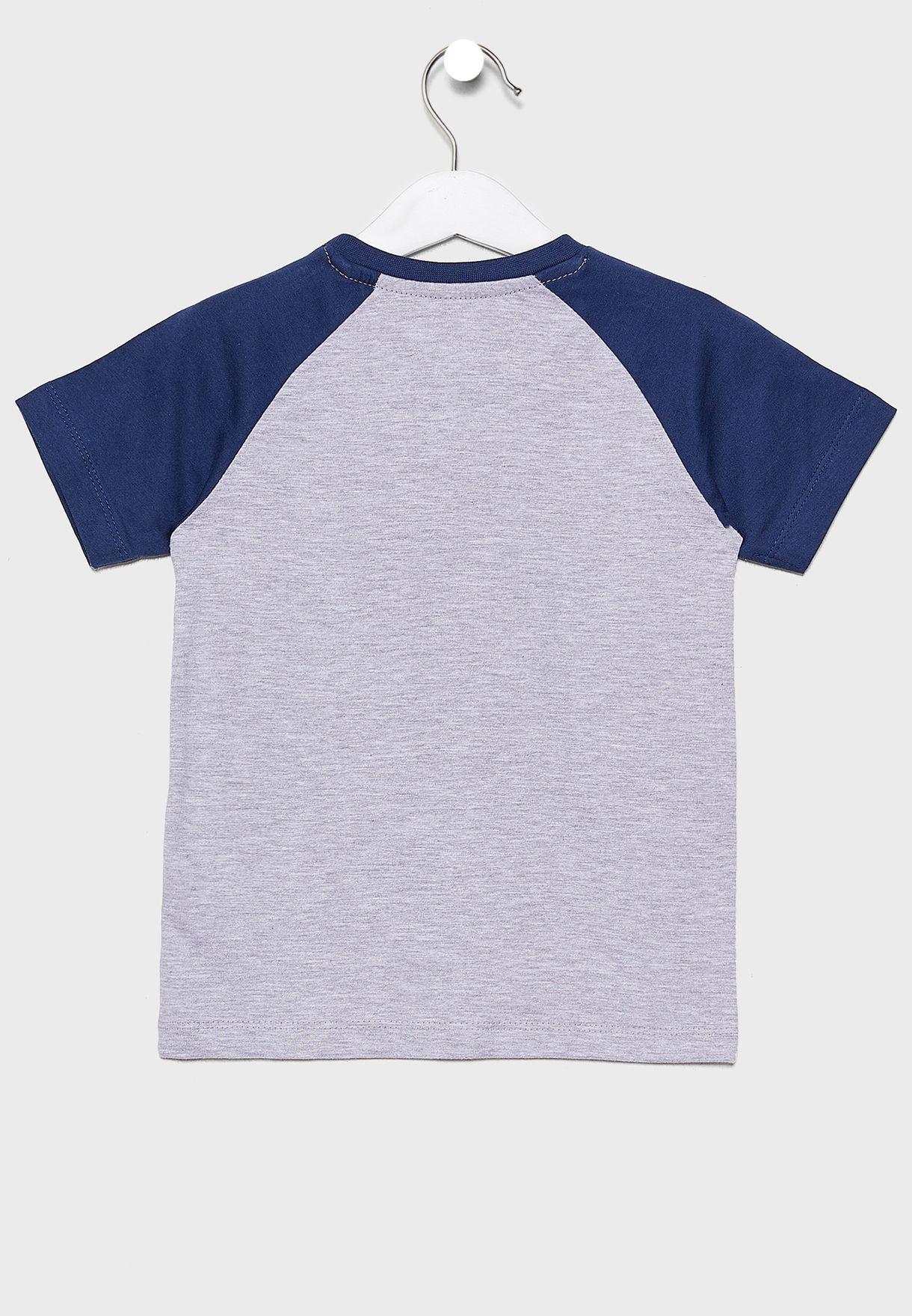 Little Raglan Graphic T-Shirt