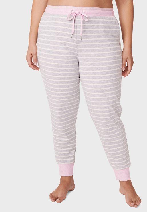 Drawstring Detail Pyjama Pant