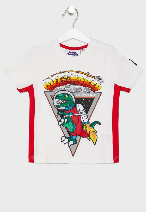 Kids Space Rex T-Shirt