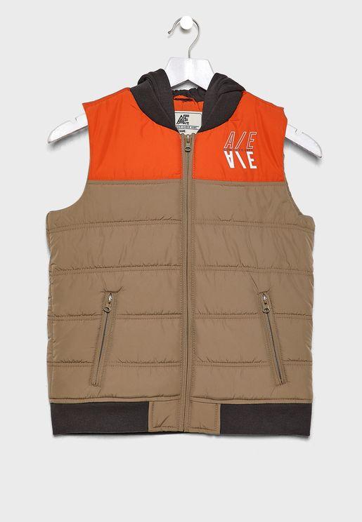 Kids Colourblock Vest