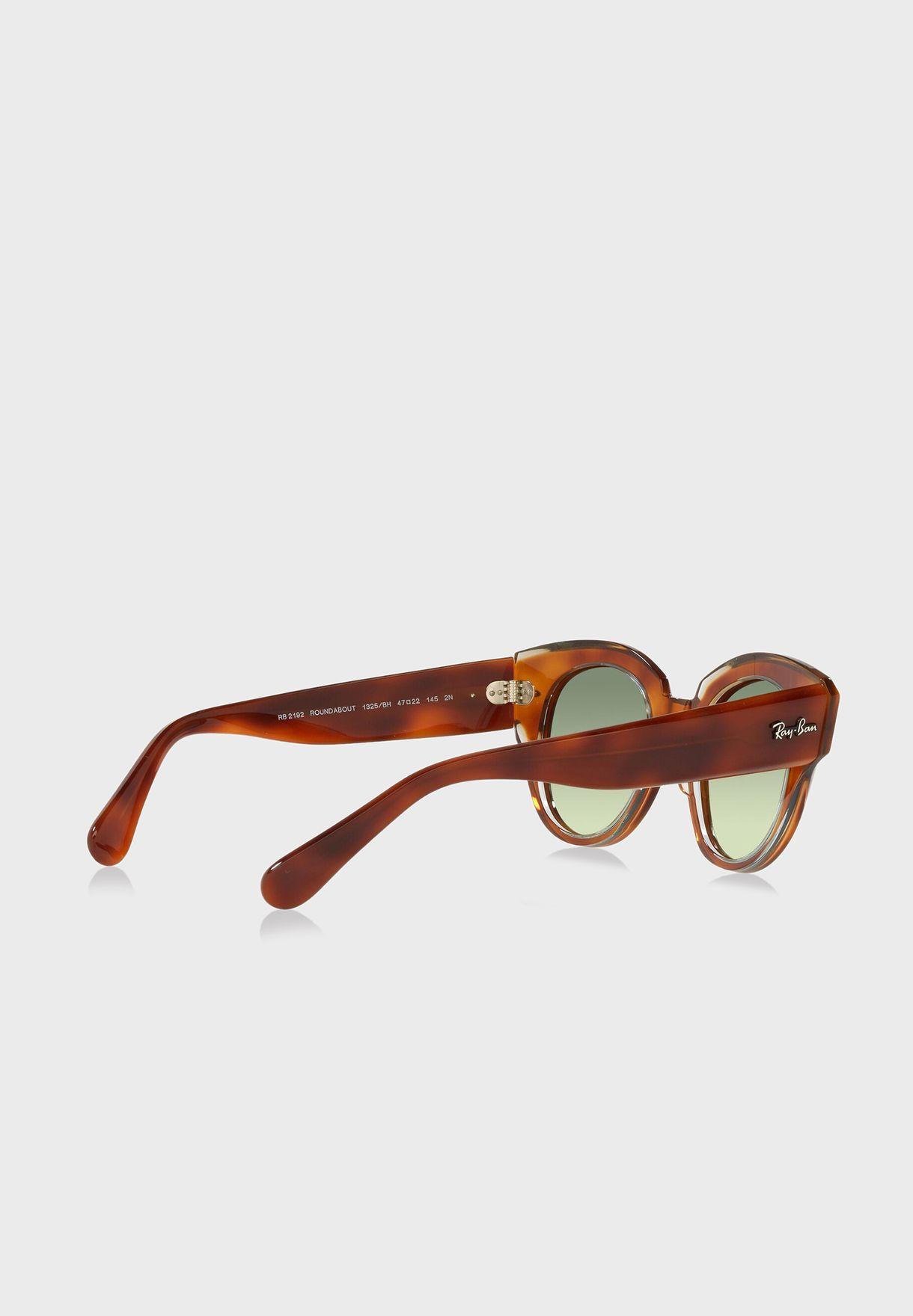 0Rb2192 Round Sunglasses