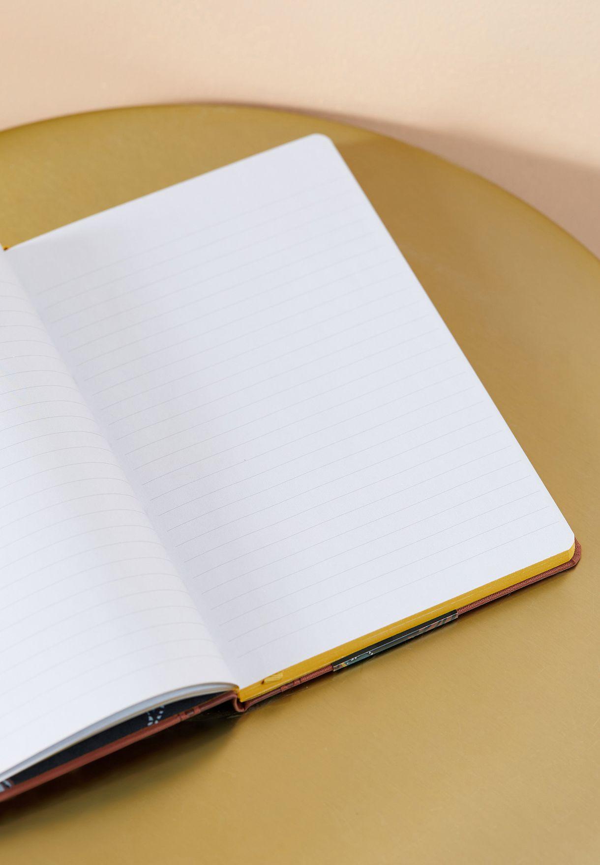 دفتر ملاحظات A5 مزين بشعار الماركة