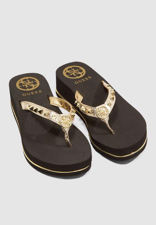 Ellorie Sandal - Gold