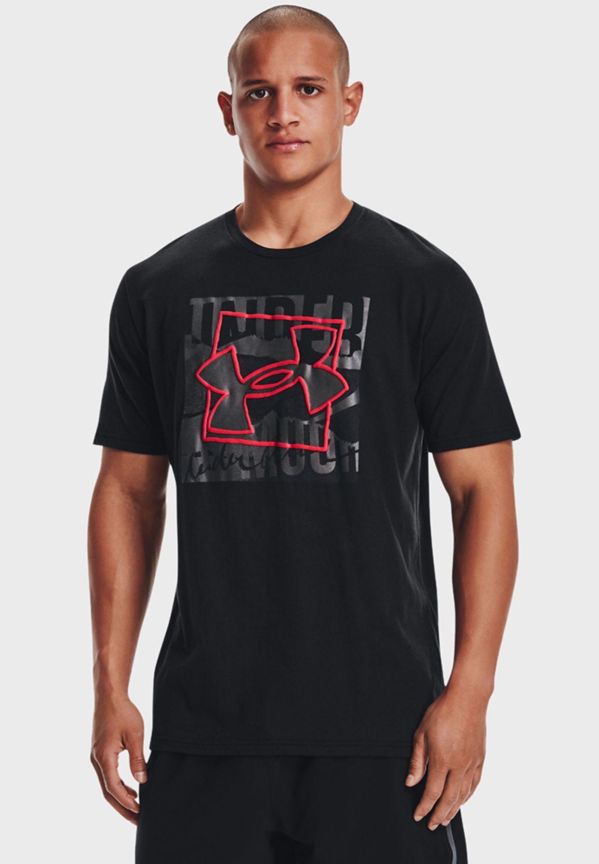 Boxed Symbol Outline T-Shirt
