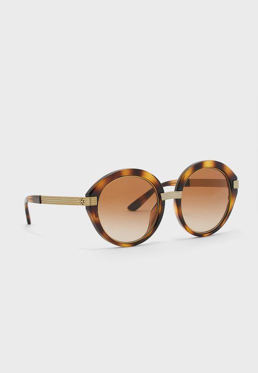 0TY9060U Round Sunglasses