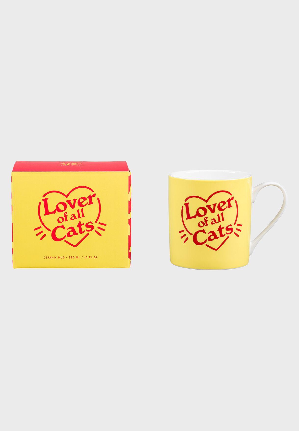 Love Of All Cat's Ceramic Mug