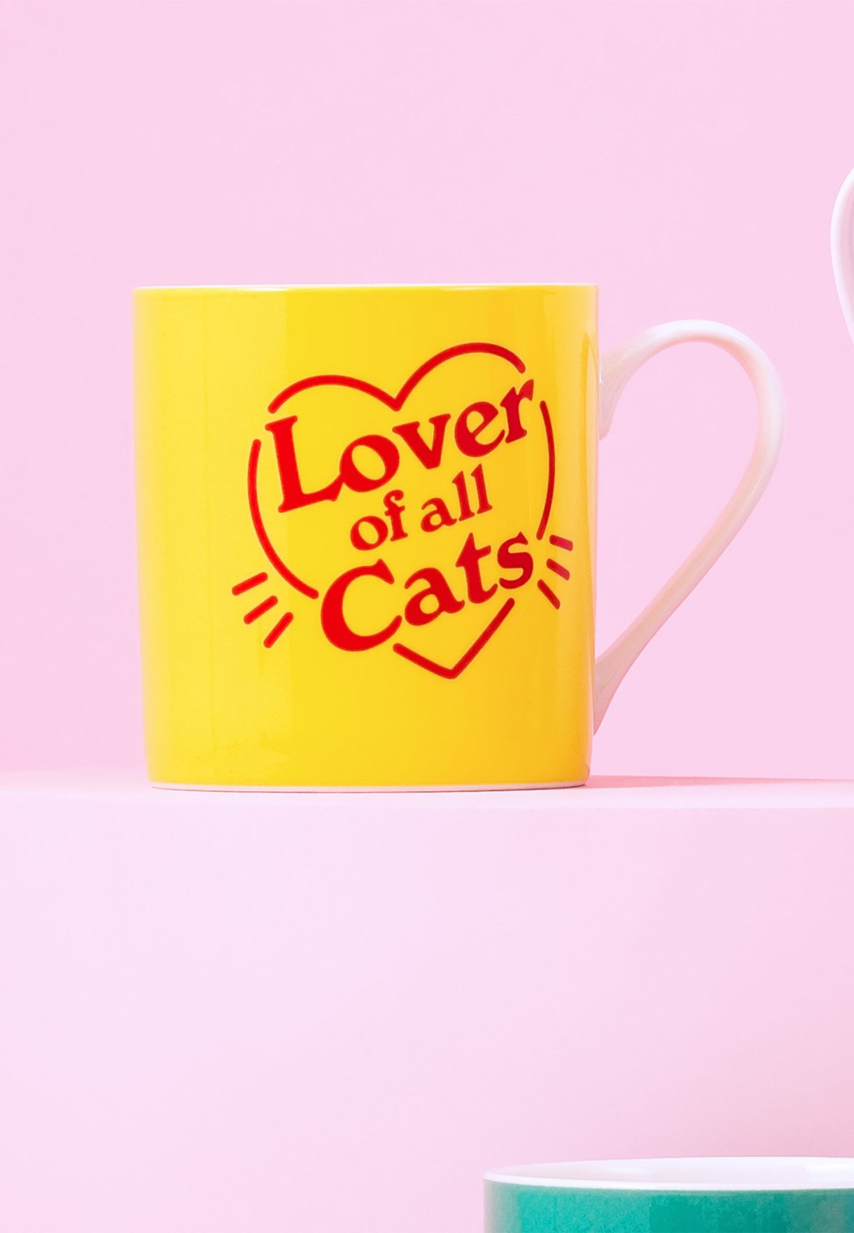 Love Of All Cat's Ceramic Mug