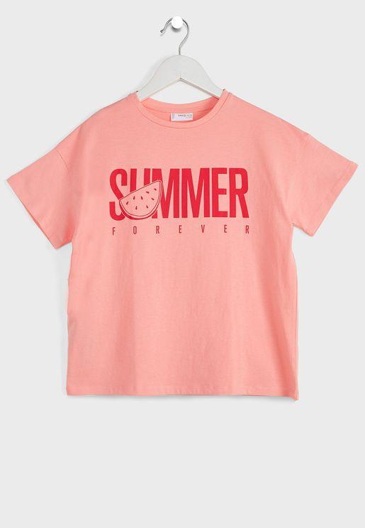 Kids Summer Forever T-Shirt