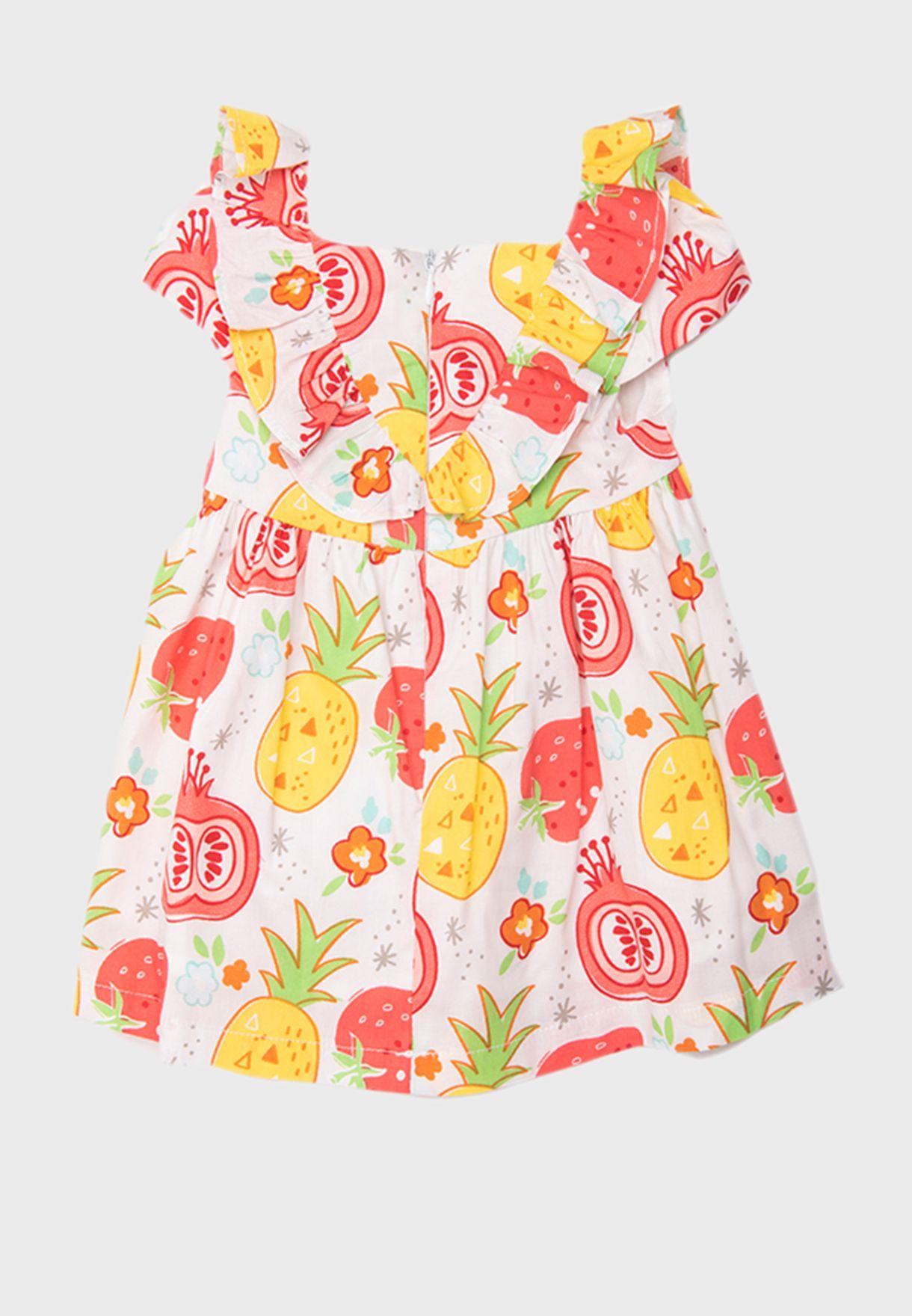 فستان بكسرات للاطفال