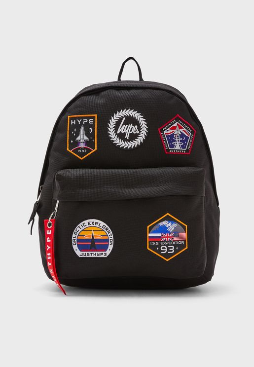 Space Badges Backpack