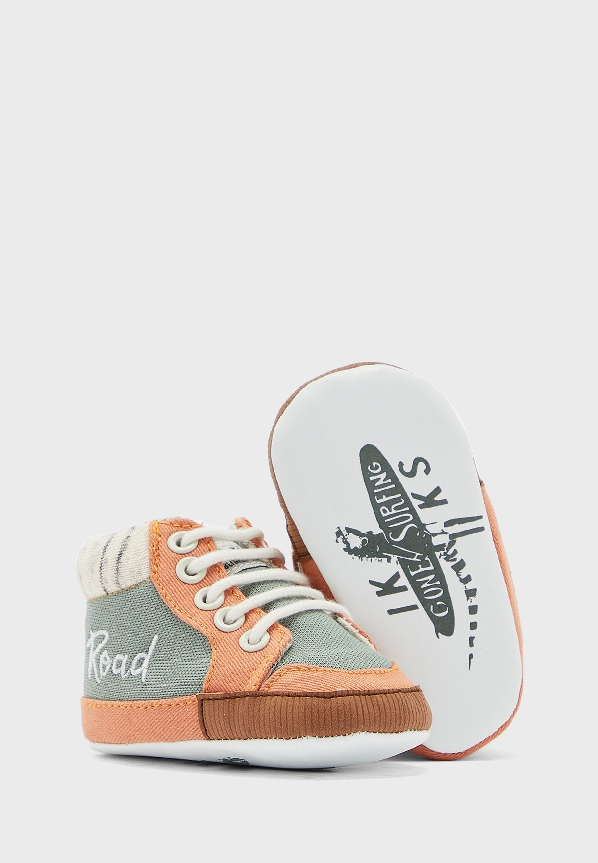 Infant Khaki Road Sneaker