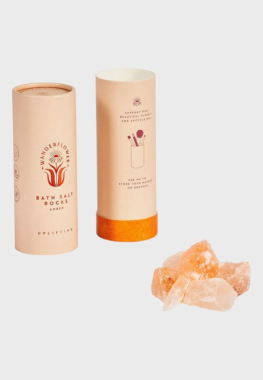 Bath Salt Rocks Amber