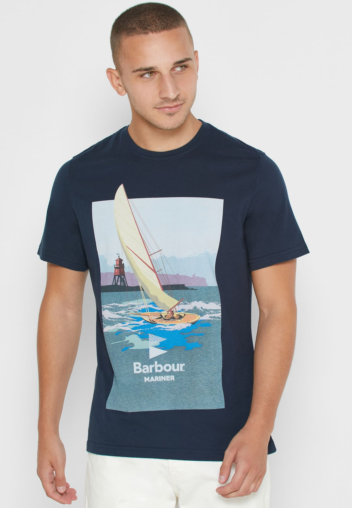 Outboard Crew Neck T-Shirt