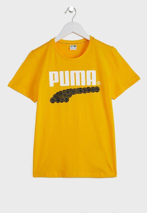 Kids Club Graphic T-Shirt