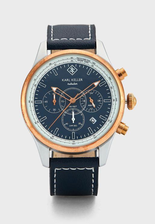 Tabular Chronograph Analog Watch
