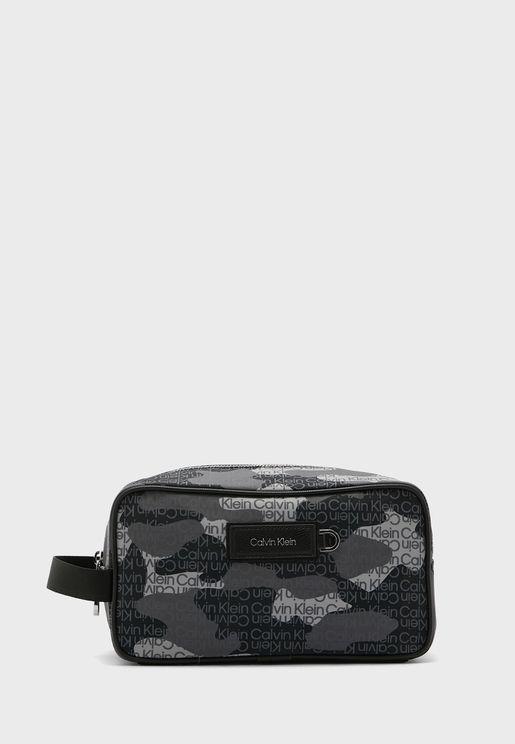 Printed Mini Messenger Bag