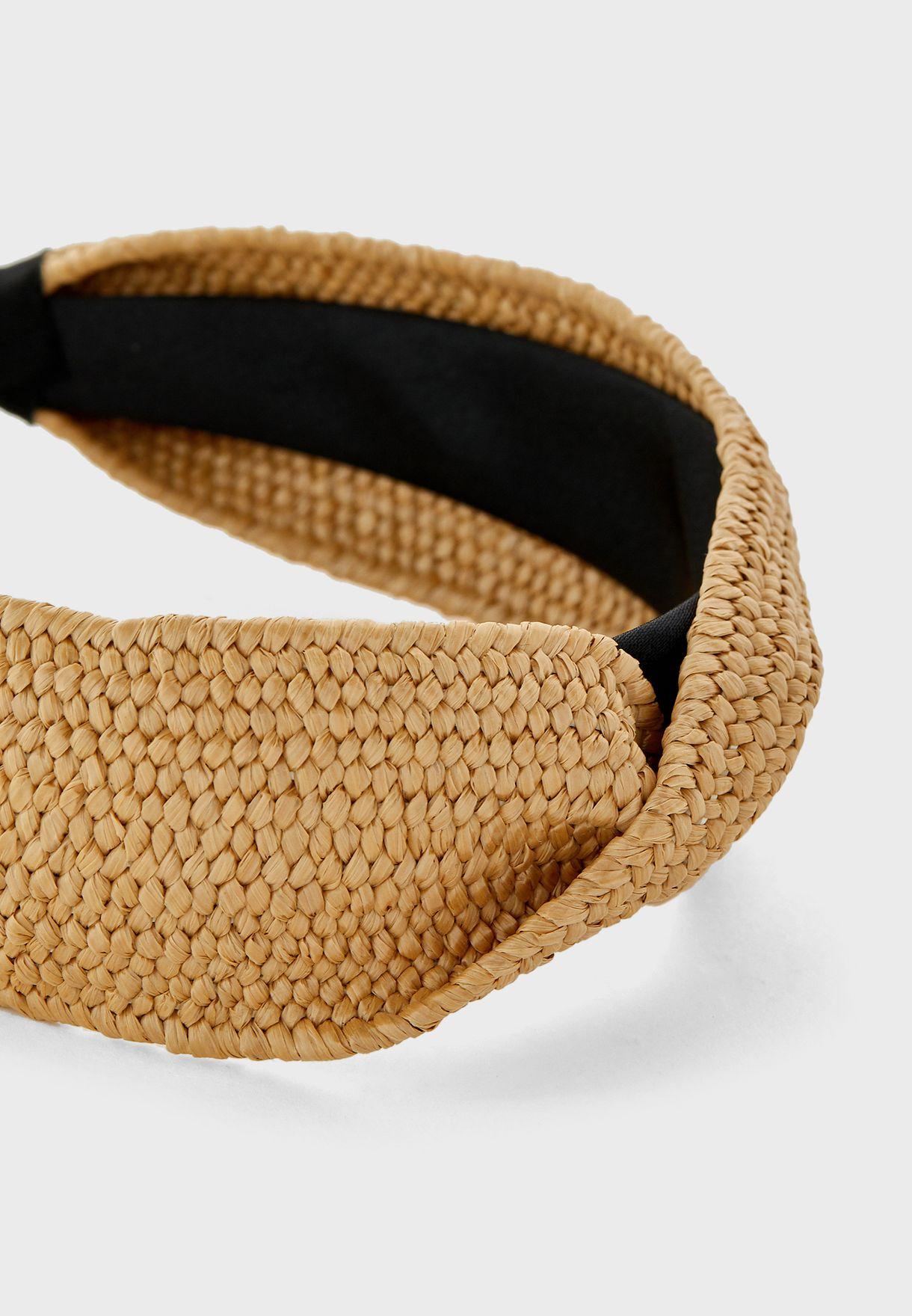 Straw Twist Headband