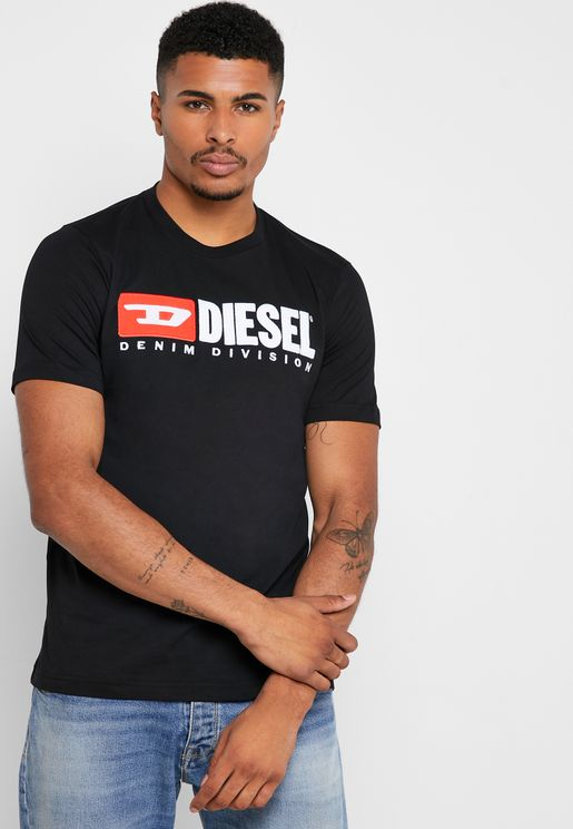 Just-Division Crew Neck T-Shirt