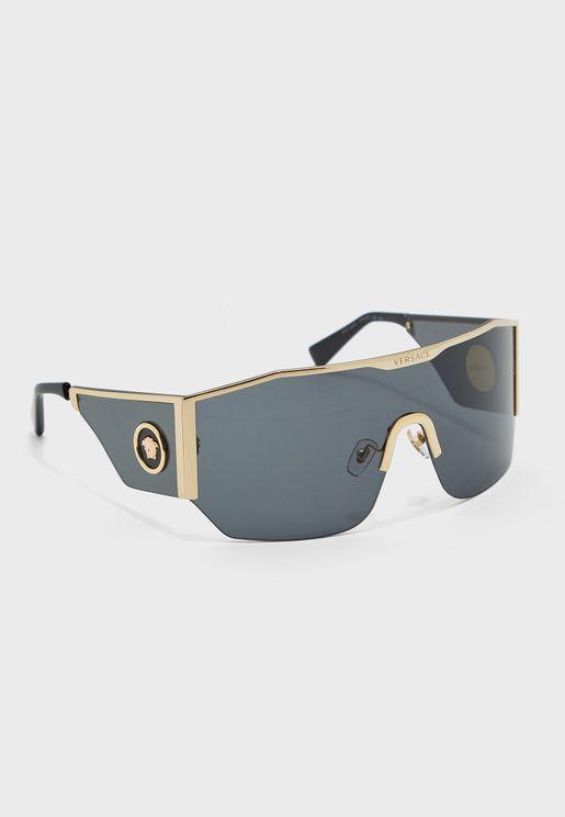 0VE2220 Shield Sunglasses