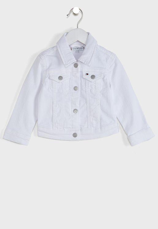 Kids Denim Trucker Jacket
