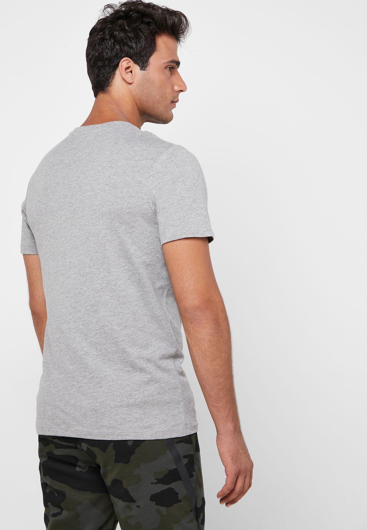 Camoclub Regular Fit Crew Neck T- Shirt