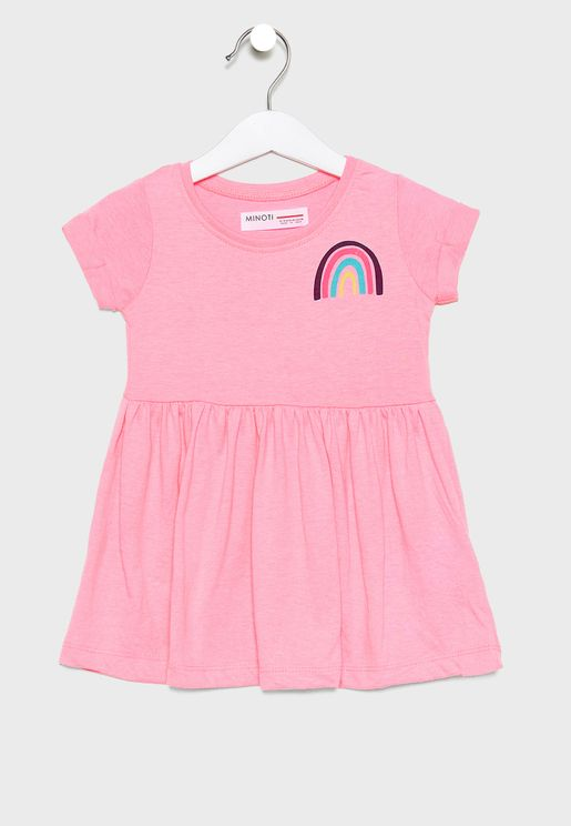 Infant Rainbow Dress