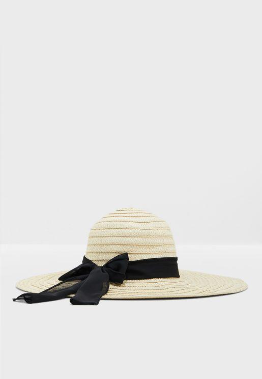 Paper Straw Brim Hat