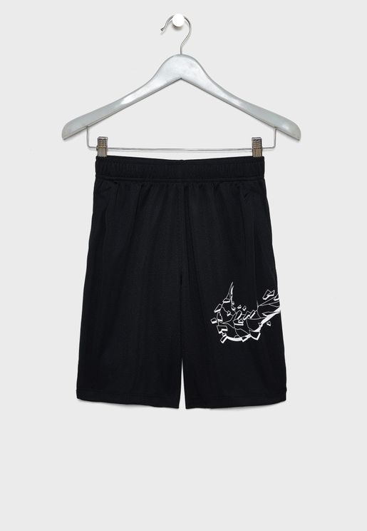 Youth Swoosh Graphic Shorts