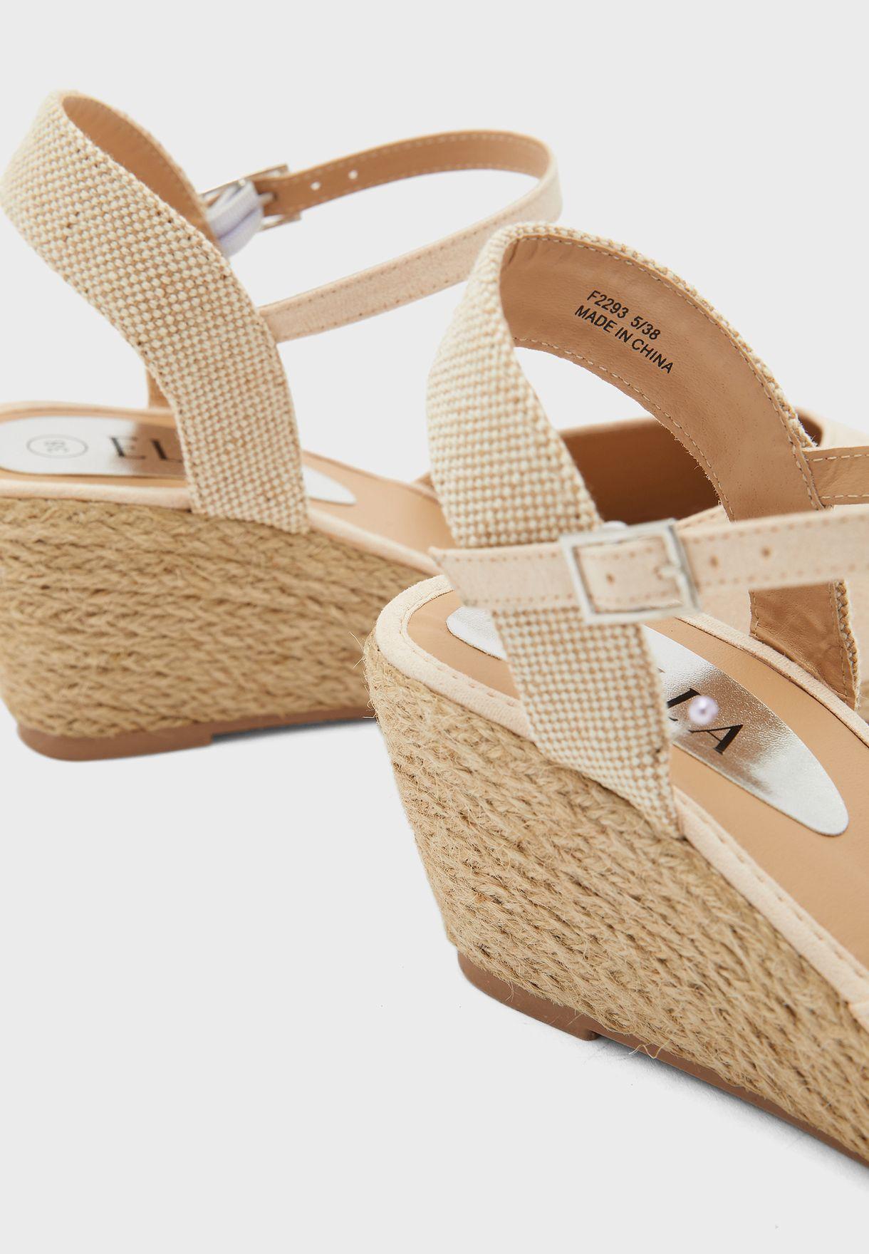 Wide Fit Espadrille Sandal