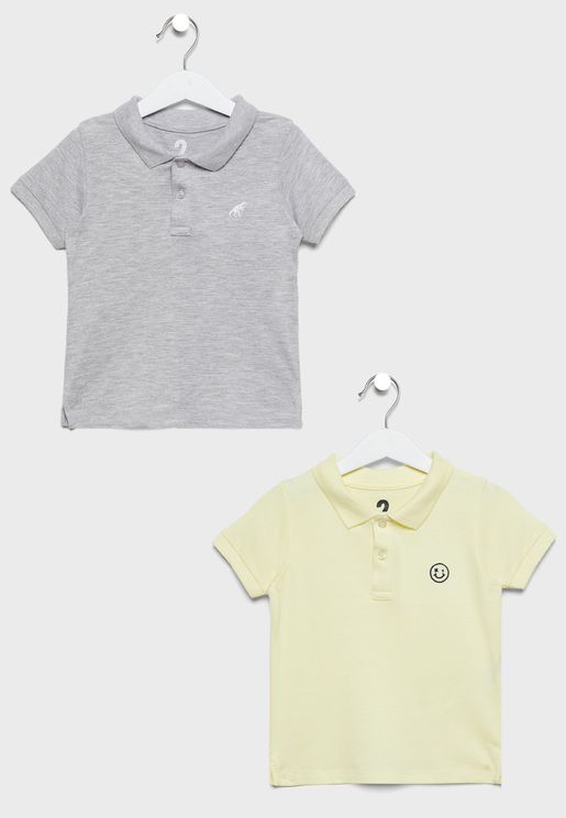 Kids 2 Pack Polo