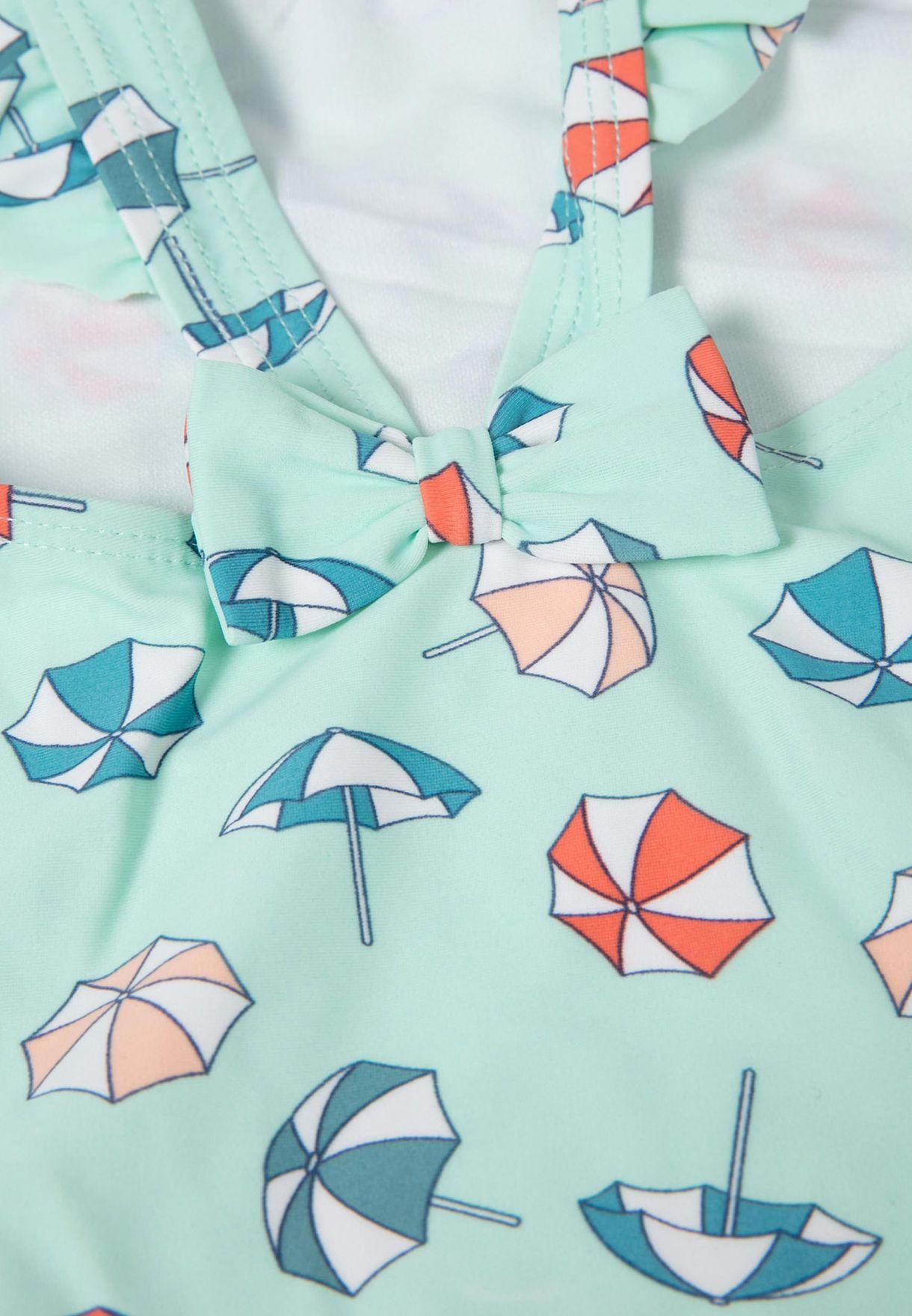 مايوه بطبعات مظلات