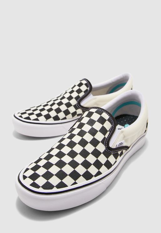 Classic Checkerboard ComfyCush Slip Ons
