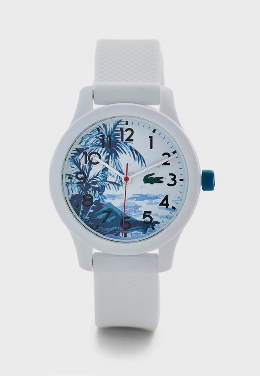 Kids12.12 Hawaii Watch With Petit Piqué Strap