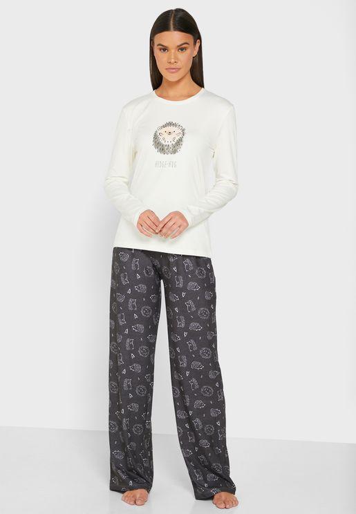 Hedge-hug Pyjama Set