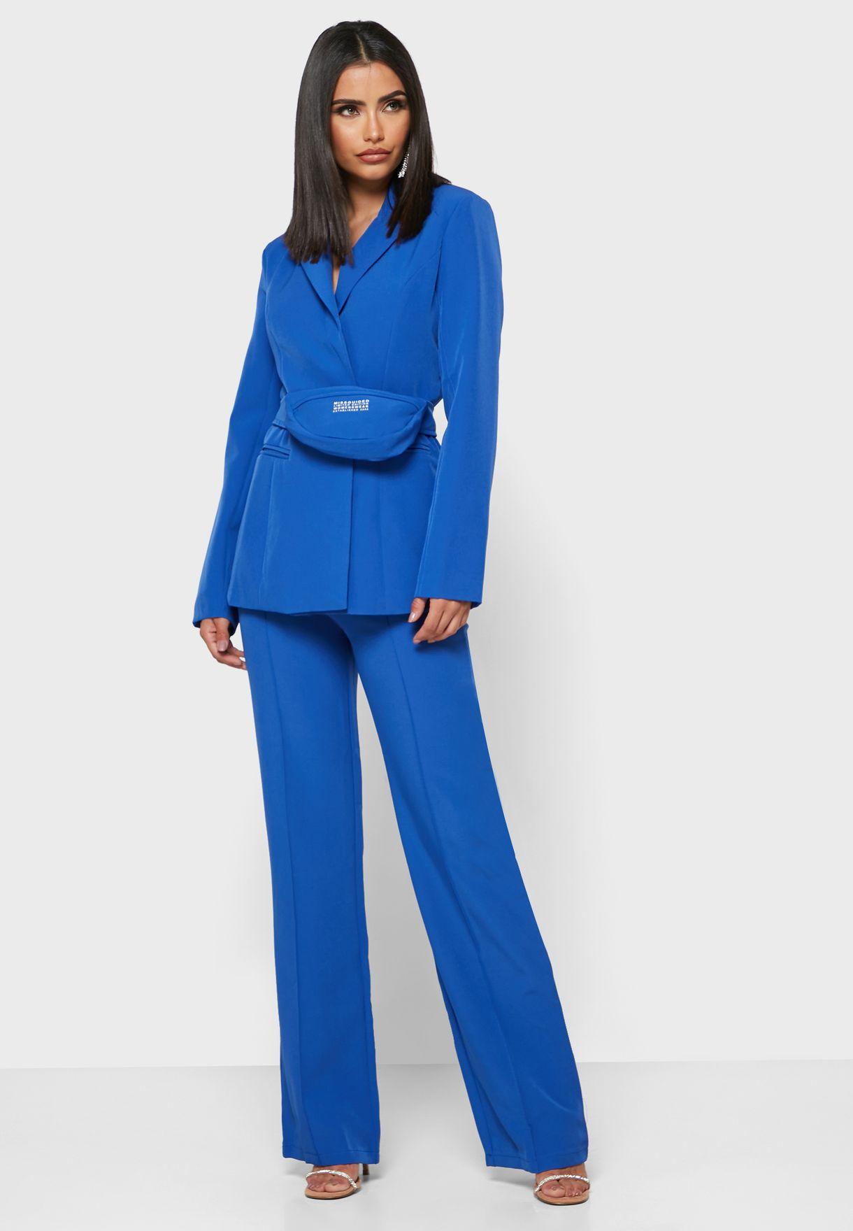 Tailored Blazer Bumbag Set