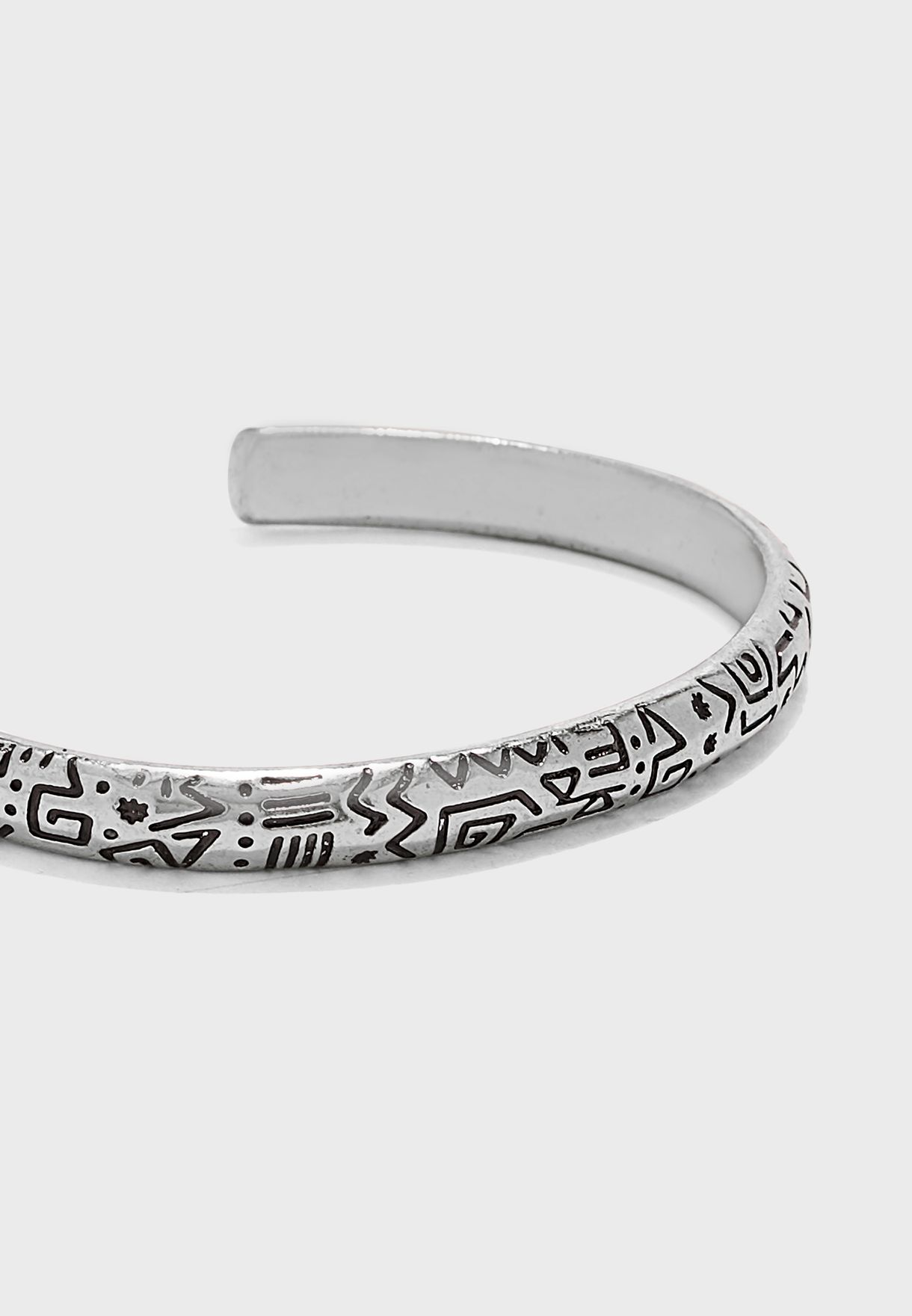 Cuff With Doodled Bracelet