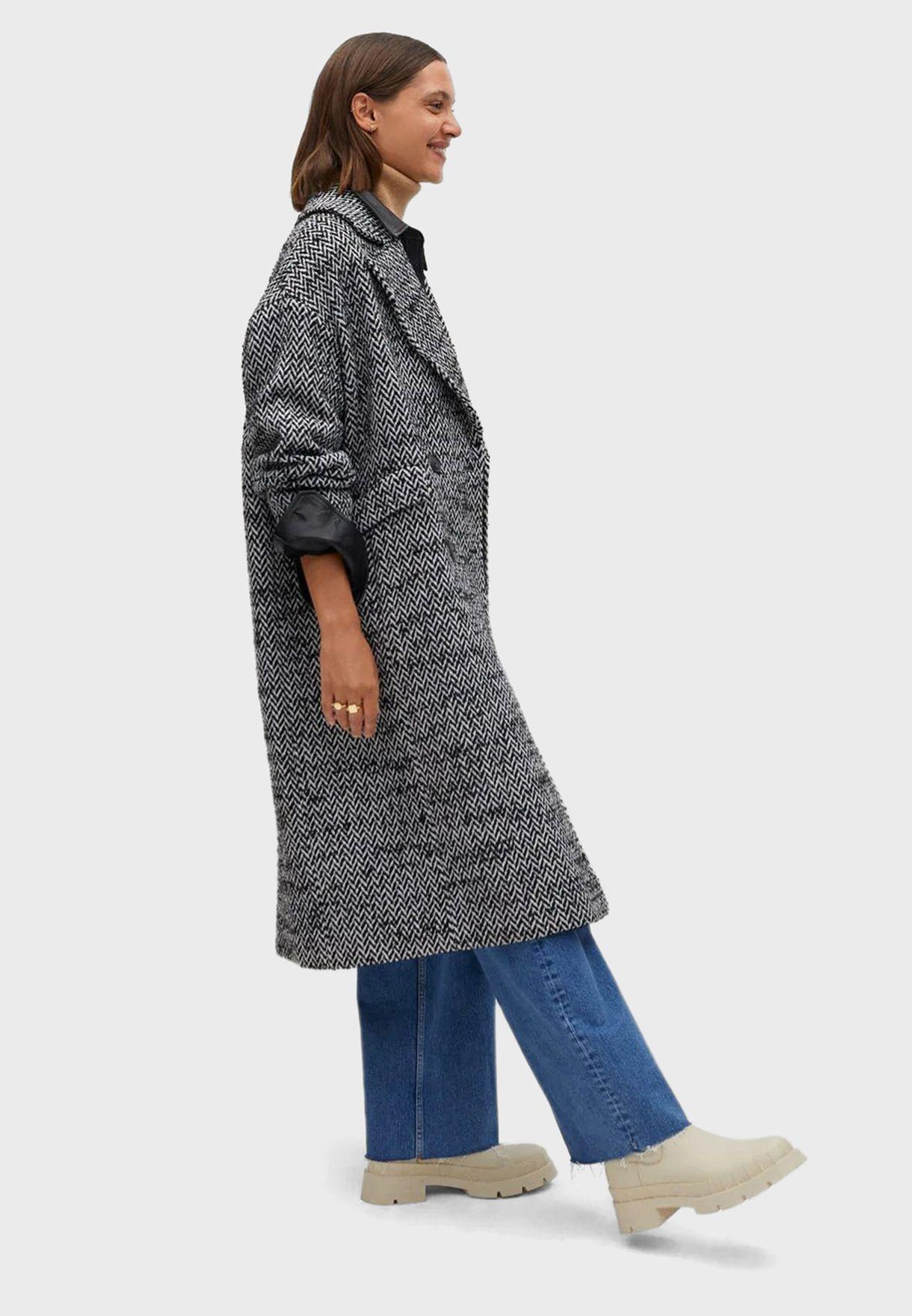معطف صوفي طويل