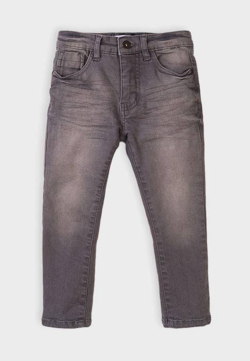 Kids Basic Regular Jeans