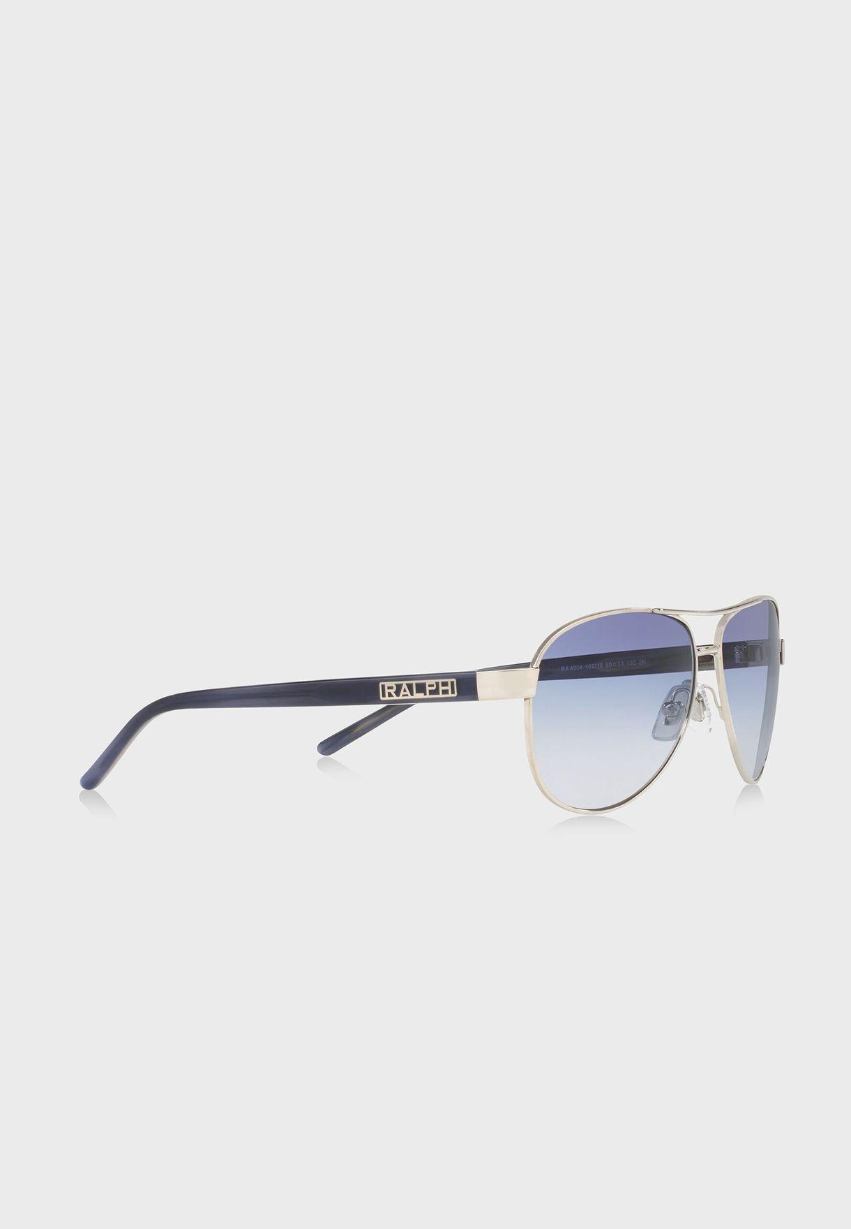 378dfbee2e0 Shop Polo Ralph Lauren silver Aviator Sunglasses 8.05E+11 for ...