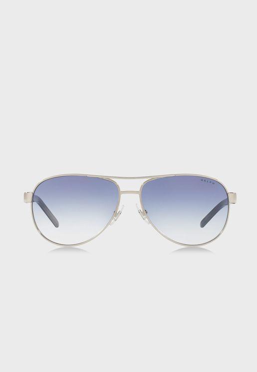0RA4004 Aviator Sunglasses