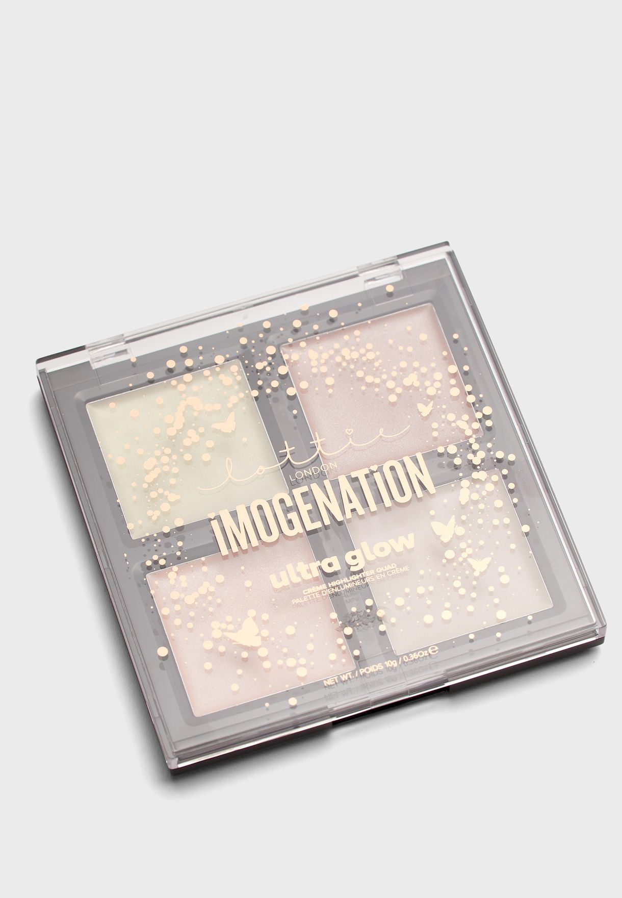 Ultra Glow Creme Highlighter Quad