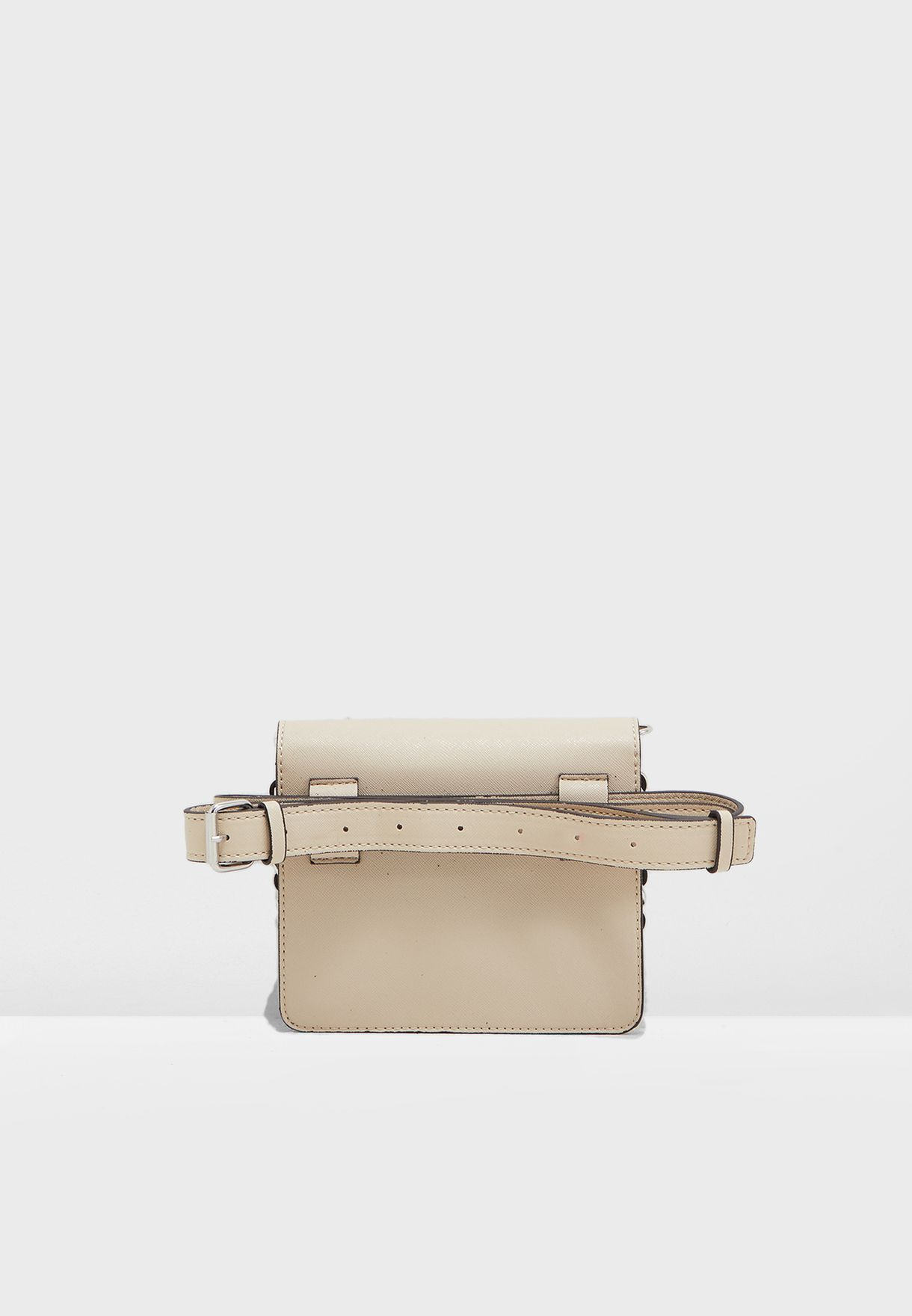 Beviec Belted Flap Over Crossbody
