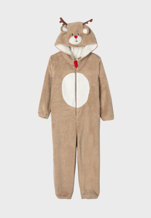 Kids Reindeer Onesie