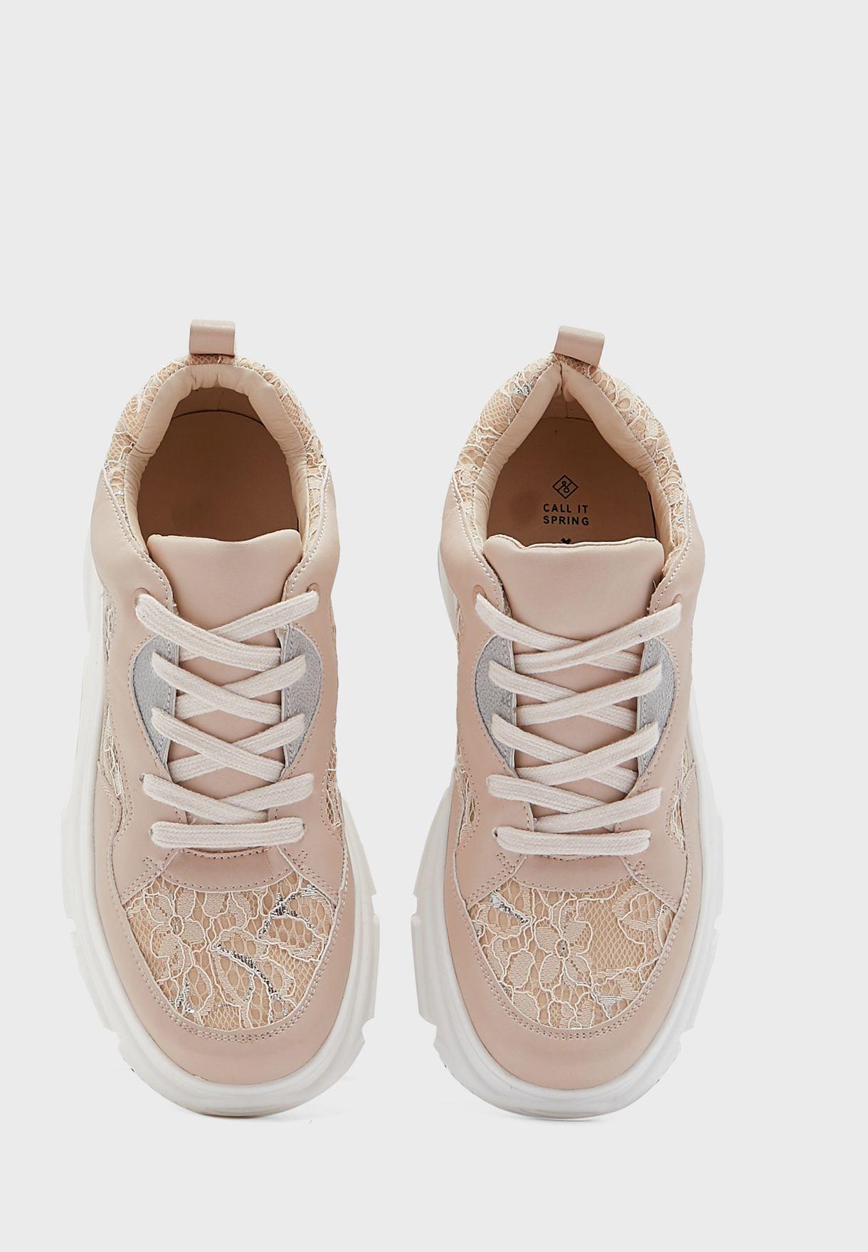 Lorelle Low Top Sneakers