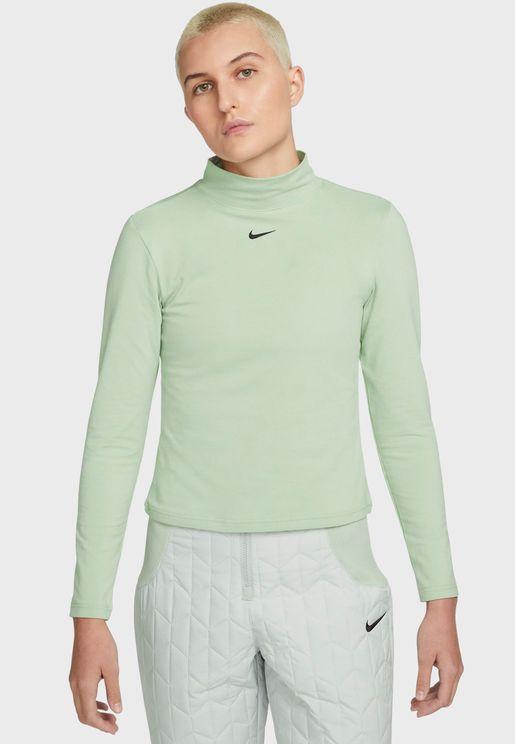 Nsw Essential Mock Neck T-Shirt