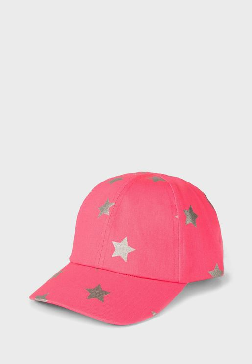 Infant Star Print Cap