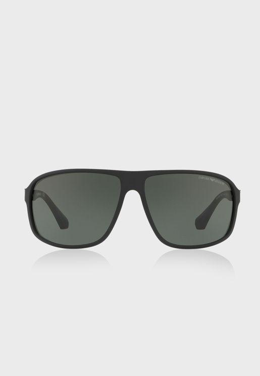 0EA4029 Shape Sunglasses