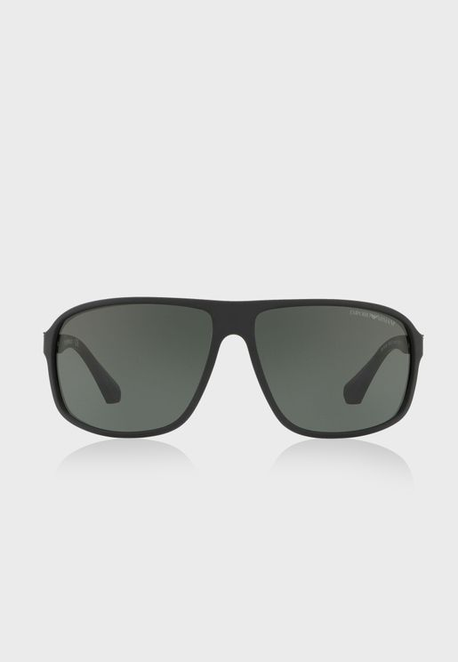 0EA4029 Shape Sunglasses